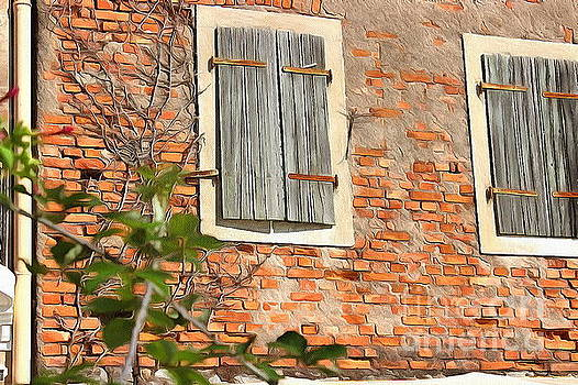 Old House Wall by Yury Bashkin