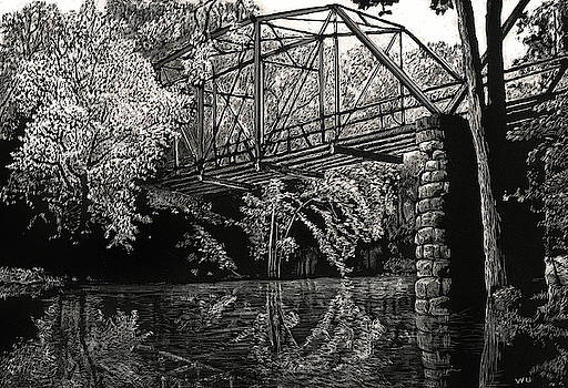 Old Iron Bridge by William Underwood