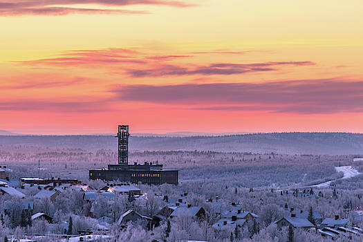 Old Kiruna by Mia Stalnacke