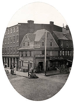 Old London Coffee House, Philadelphia by Thomas S Hacker
