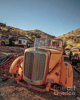Edward Fielding - Old Mack Fire Engine Abandoned in Arizona