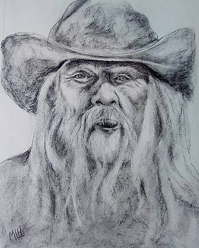 Old Man in a Hat  by Marcia Hochstetter