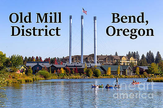 Old Mill District Bend Oregon by G Matthew Laughton