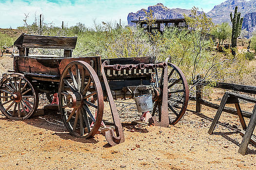 Old Mining Days 2 by Dawn Richards