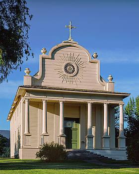 Old Mission, Cataldo, Idaho by David Sams
