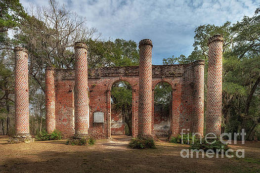 Dale Powell - Old Sheldon Church Ruins in Yemassee South Carolina