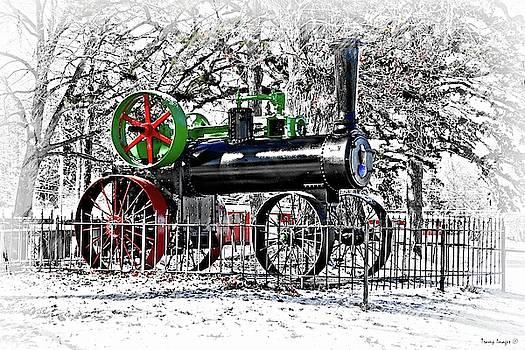 Old Steam Engine by Wesley Nesbitt