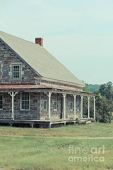 Old Stone Farm House Newbury Vermont by Edward Fielding