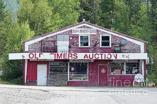 Old Timers Auction, Montana by Catherine Sherman