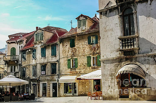 Old town of Split, medieval city  by Joaquin Corbalan