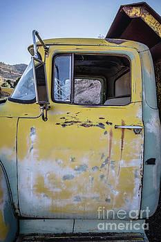 Old Vintage Dump Truck by Edward Fielding