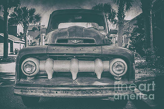 Dale Powell - Old Vintage Ford Truck Grill