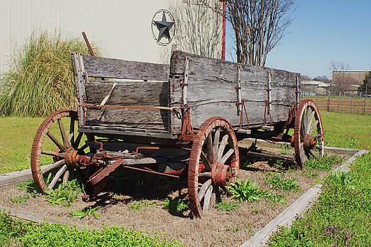 Old Wagon by Warren Gale