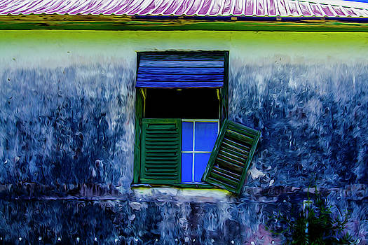 Old window 3 by Stuart Manning