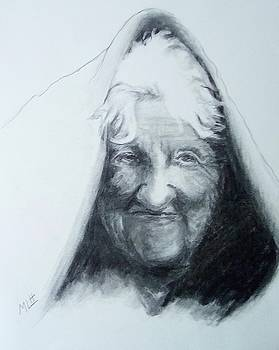 Old Woman by Marcia Hochstetter