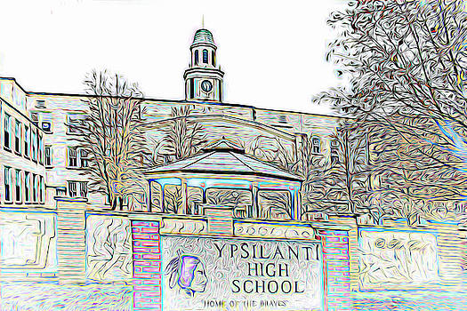 Old Ypsi High by Pat Cook