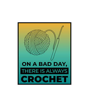 On A Bad Day There Is Always crochet 3 by Kaylin Watchorn