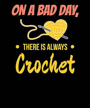 On A bad Day There Is Always Crotchet by Kaylin Watchorn