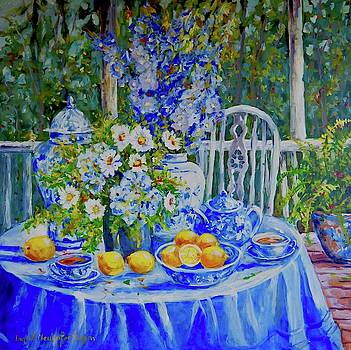 On the Terrace by Ingrid Dohm