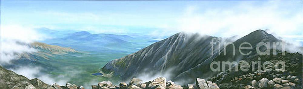 On the top of Katahdin by Varvara Harmon