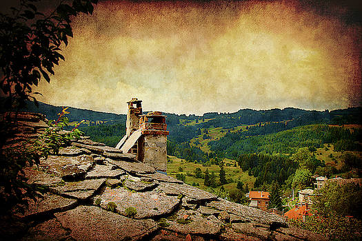 On the Top of the Mountain by Milena Ilieva