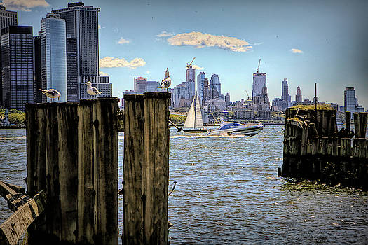 On the waterfront by Geraldine Scull