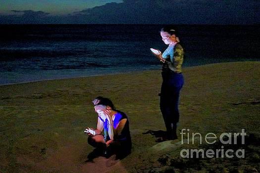On Their Phones by Craig Wood