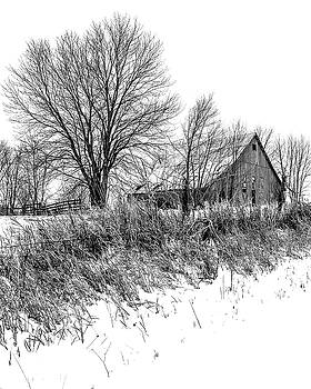 On Top the Snowy Hill BW by Rick Grisolano Photography LLC