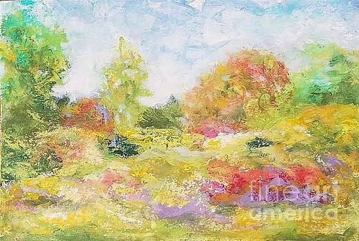 Once in a botanical garden by Olga Malamud-Pavlovich