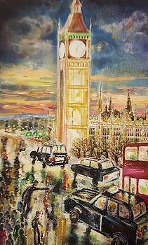 Once upon a time in London by Alla Savinkov