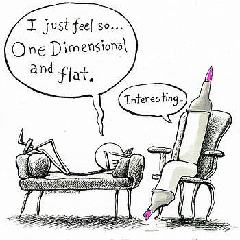 One Dimensional Feeling by Miko Zen
