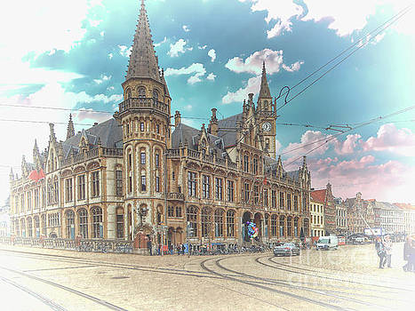 One last work of Ghent by Leigh Kemp