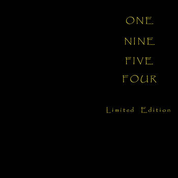 One Nine Five Four by Barry W King