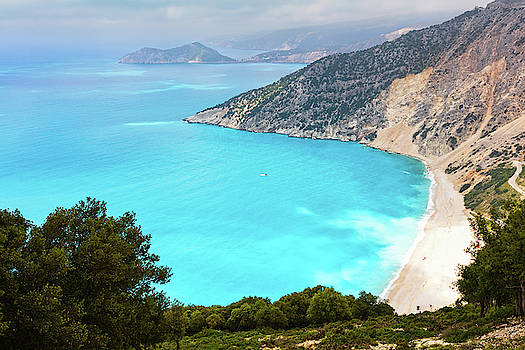 One of the most popular beaches in Greece by Evgeni Dinev