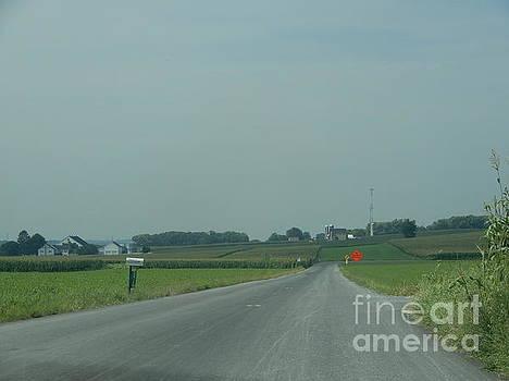 Christine Clark - Open Amish Road