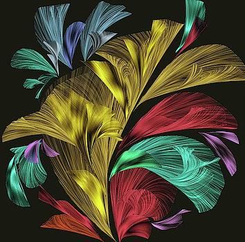 An Iridescent  Floral Bouquet by Grace Iradian