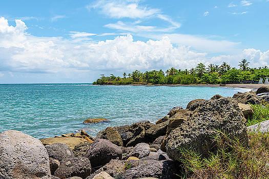 Orange Bay in Portland Jamaica by Debbie Ann Powell