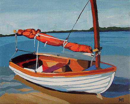 Orange Sail by Melinda Patrick
