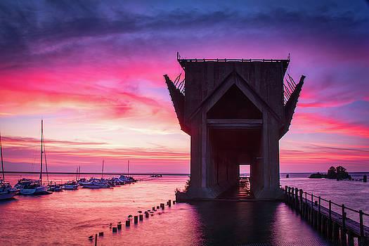 Ore Dock Sunrise by John Wilkinson