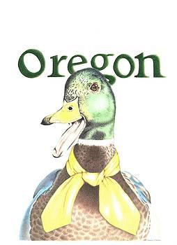 Oregon Duck by Karrie J Butler