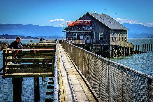 Oregon Pier by John Wilkinson