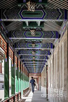 Oriental Hallway by Iryna Liveoak