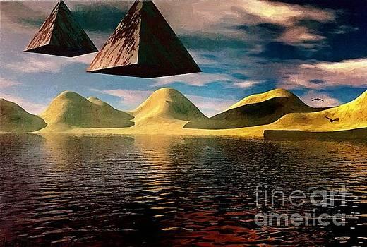 Origin of the Pyramids by Abbie Shores