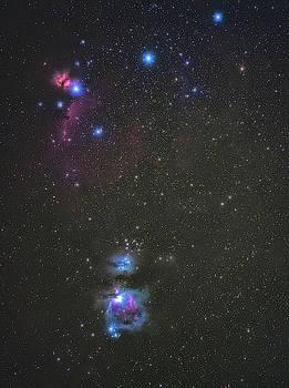 Orion Nebula by Marybeth Kiczenski