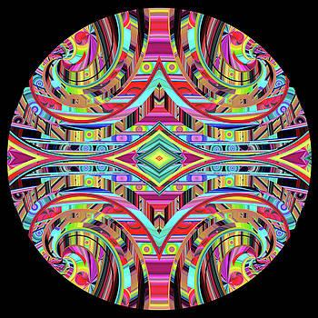 Ornamental Tapestry   by Grace Iradian