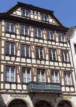 Ortenberg Restaurant Strasbourg France by Teresa Mucha