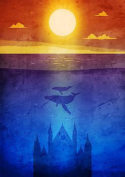 Andrea Gatti - Orvieto whales sunset