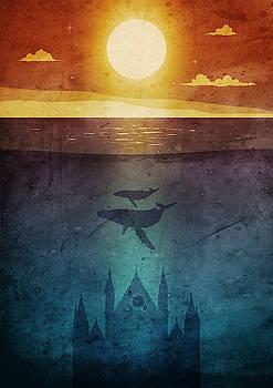 Andrea Gatti - Orvieto whales twilight