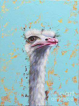 Ostrich by Lucia Stewart