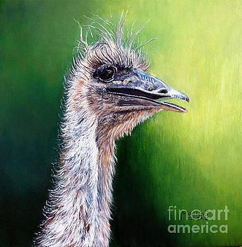 Ostrich by Marilyn McNish